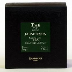 Boite 25 sachets Cristal - Dammann Frères Jaune Lemon