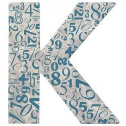 Boite de rangement - Letter n Poetry - K - Rader