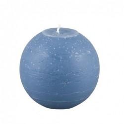 Bougie Broste Copenhagen - Bleu nordique - boule - 10cm