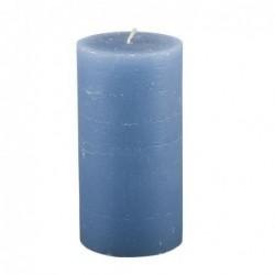 Bougie Broste Copenhagen - Bleu nordique - rustique - 7x13