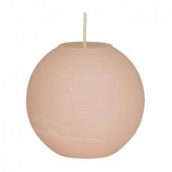 Bougie Broste Copenhagen - Soft rose - boule - 10cm