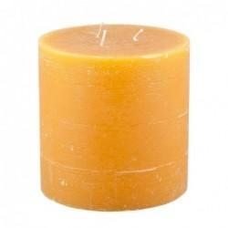 Bougie Broste Copenhagen - Orange - rustique 3 mèches - 13x13cm