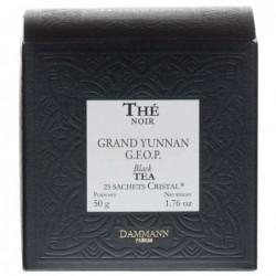 Boite 25 sachets Cristal - Dammann Frères Grand Yunnan G.F.O.P