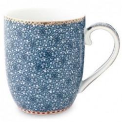 Pip Studio - Petit mug Spring to life - 145 ml - bleu