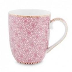 Pip Studio - Petit mug Spring to life - 145 ml - rose