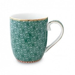 Pip Studio - Petit mug Spring to life - 145 ml - vert