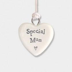 Cœur miniature en porcelaine - East of India - Special mum