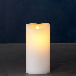 Bougie LED - Sirius - Sara Exclusive White - 15 cm