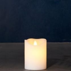 Bougie LED - Sirius - Sara Exclusive White - 10 cm