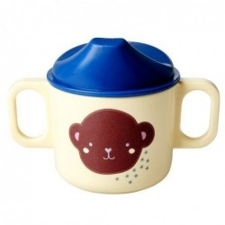 Tasse enfants à bec - Mélamine - Rice - Monkey