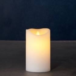 Bougie LED - Sirius - Sara Exclusive White - 12.5 cm / Ø 7.5 cm