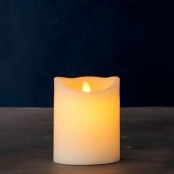 Bougie LED - Sirius - Sara amande 12.5 cm