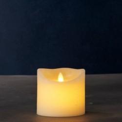 Bougie LED - Sirius - Sara amande 10.5 cm