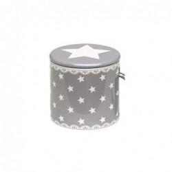 Décoration sapin - Petit tambour - Greengate - Star Warm Grey