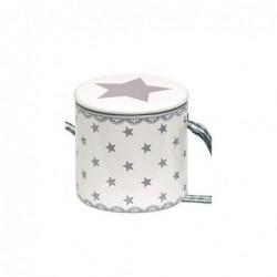 Décoration sapin - Petit tambour - Greengate - Star White