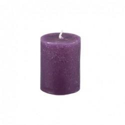 Bougie Broste Copenhagen - Violet - rustique - 3