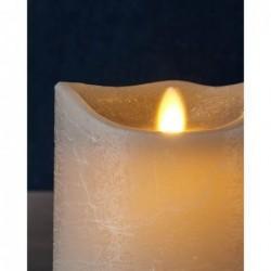 Bougie LED - Sirius - Sara - Grey - 12.5 cm
