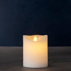 Bougie LED - Sirius - Sara Exclusive White - 12.5 cm / Ø 10 cm