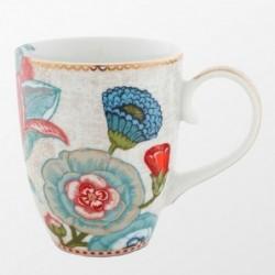 Pip Studio - Grand mug Spring to life - 350 ml - crème
