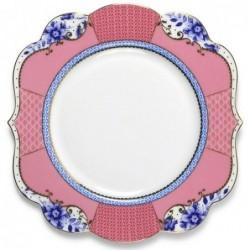 Assiette à dessert rose 17 cm - Pip Studio - collection Royal
