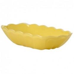 Coupelle à banana split - Rice - Jaune