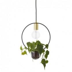 Lampe suspension plante - Bloomingville - Cercle