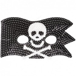 Masque paillettes - Rice - Pirate