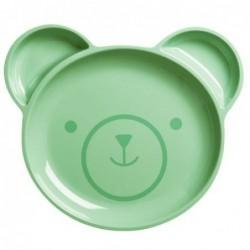 Assiette enfant Rice à compartiments - Bear
