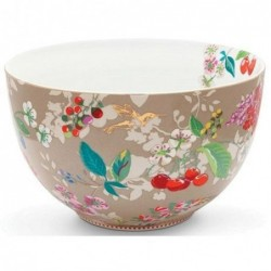 Saladier - Hummingbirds kaki - Pip Studio - 23 cm