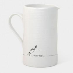 Crémier porcelaine - East of India - Happy day