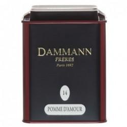 Boite Dammann Frères n°14 Pomme d'amour - thé noir 100g