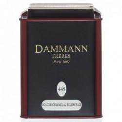 Boîte Métal Dammann Frères - Oolong caramel au beurre salé - 100g