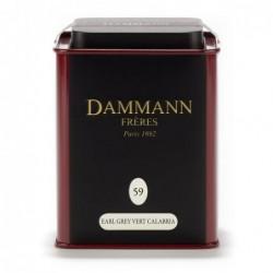 Boîte Dammann Frères n°59 Calabria - Thé vert 100g