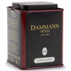 Boîte Dammann Frères n°549 Enjoy Summer - Thé vert 100g