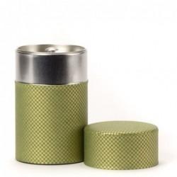 Boîte à Thé japonaise Washi - Shikaku verte - Dammann - 100g