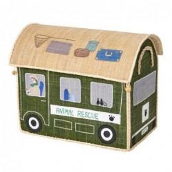 Maison Range jouet - Rice - Animal rescue - Moyen Modèle