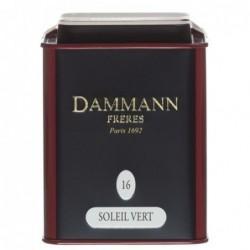 Boite Dammann Frères n°16 Soleil Vert - thé vert 100g