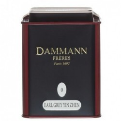 Boite Métal Dammann Frères N°0 Earl Grey Yin Zhen - 100g