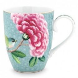 Grand mug - Blushing Birds - Bleu - Pip Studio - 35 cl