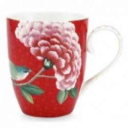 Grand mug - Blushing Birds - Rouge - Pip Studio - 35 cl
