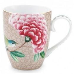 Grand mug - Blushing Birds - Kaki - Pip Studio - 35 cl
