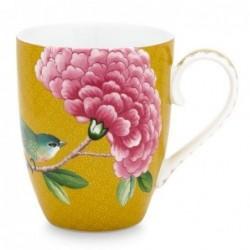 Grand mug - Blushing Birds - Jaune - Pip Studio - 35 cl