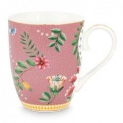 Grand mug - La Majorelle - Rose - Pip Studio - 35 cl