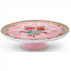 Plat à gâteau - Floral 2 rose - Pip Studio