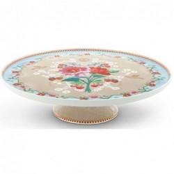 Plat à gâteau - Floral 2 kaki - Pip Studio
