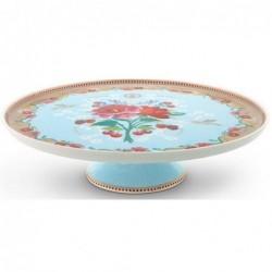 Plat à gâteau - Floral 2 bleu - Pip Studio