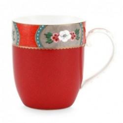 Petit mug - Blushing Birds - Rouge - Pip Studio - 145 ml