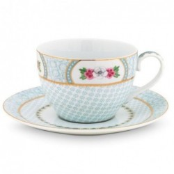Tasse et sous tasse à thé - Blushing Birds - Blanc - Pip Studio - 28 cl