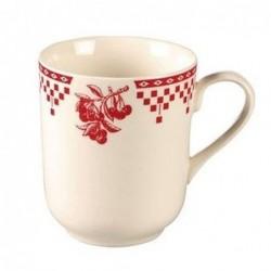 Tasse - Comptoir de Famille - Damier rouge