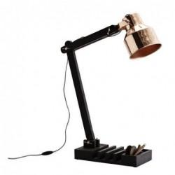 Lampe de table organizer Madam Stoltz - black wood